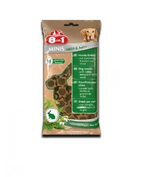 8in1 Minis - Лакомство за кучета с заешко и билки